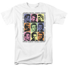 JAMES DEAN JAMES COLOR BLOCK MENS TEE SHIRT
