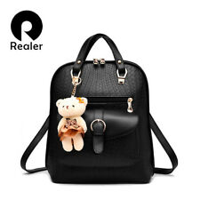 CASUAL GIRLS BACKPACK PU LEATHER FASHION WOMEN SCHOOL TRAVEL BAG FOR TEENAGERS