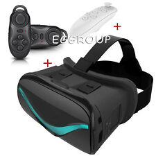 For 4.0-6.0 Inch Android Phones VR Virtual Reality Headset 3D Glasses Box+Remote