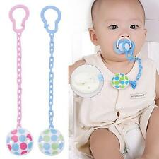Pacifier Dummy Infant Soother Chain Clip Toddler Toy Girl Baby Holder New Boy