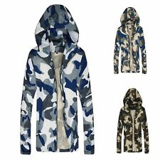 New Men Jacket Spring And Autumn Outdoor Leisure Coat Camouflage Hooded Outwear