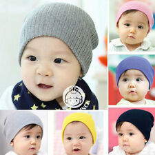 Sweet Newborn Infant Baby Boy Girl Soft Beanie Hats Knitted Kid Winter Warm Caps