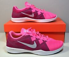 NWT WOMENS NIKE LUNAR LUX TR ROSE PINK TRAINING RUNNING SNEAKERS SHOES SZ 10