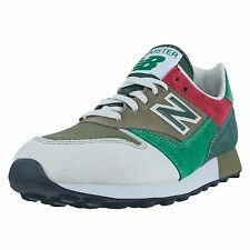 NEW BALANCE TRAILBUSTER RETRO RUNNING SNEAKER LIGHT GREY RED GREEN TBTLG