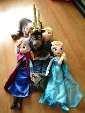 BNWT Official Disney Frozen Plush Collection Soft Doll Toy Snowman