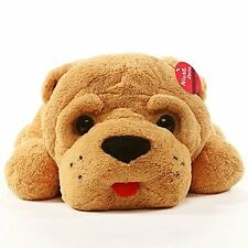 Giant Dog Stuffed Toy Plush Puppy Animal Big Doll Pillows Cuddle Huge Kids Gift