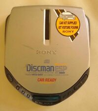 Sony CD Discman Walkman Model D-E307 with ESP Protection and MEGA BASS - TESTED