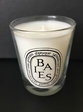 Diptyque Paris Baies Berries Scented Candle New + Collectible Tote Bag Free Ship