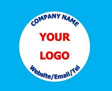 Personalised Business Name Stickers Thank You Seals Your Logo Labels Address 525