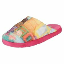 Girls D93641-B Doc McStuffins multi coloured textile slippers by DISNEY