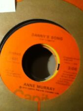 Anne Murray, Danny's Song ~ NM 1972 Capitol 45 +sleeve, juke strip