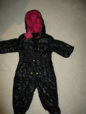 Coogi Baby 1 piece  black snowsuit. 6 month