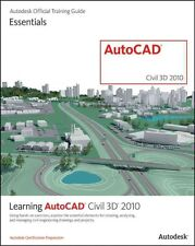 Learning AutoCAD Civil 3D 2010 by Autodesk Official Training Guide Paperback Boo