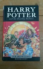 harry potter and the deathly hallows hardback book.,(FIRST EDITION)j.k rowling