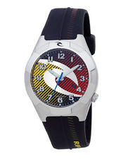 RIP CURL mens or boys CUBA PU SURF WATCH rrp$120 BRAND NEW Red & Yellow