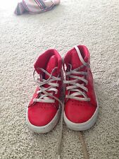 Girls Adidas High Tops Size 7.5