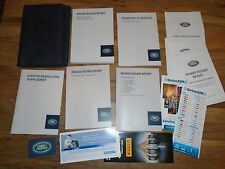 Land Rover , Range Rover Sport Supercharged 2014 Owners Manual Books OEM  w/Case