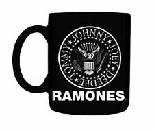 * THE RAMONES - CREST LOGO - OFFICIAL BOXED MUG