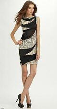 NWT Diane von Furstenberg Mattie Printed Georgette Dress 8 NWT Gorgeous!
