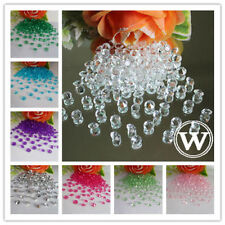 500pcs 8mm 2ct Acrylic Diamond Confetti Wedding Party Decoration Table Scatters