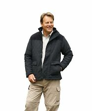 Mens Champion Lewis Country Quilted Jacket Coat Fleece Lining 3618