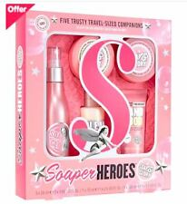 Soap And Glory Soaper Heroes CHRISTMAS Gift Set Includes 5 Travel Size Products