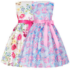 Rrincess Pageant Flower Girl Dress Kids Birthday Bridesmaid Formal Dress 2-12yrs