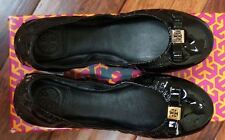 Tory Burch NIB Tory Burch Flats Black - Eddie with Bow 6.5B 7.5B GORGEOUS!!