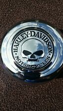 "Custom Harley-Davidson  Willie G. Skull  Horn Cover! ""NEW""""""'"