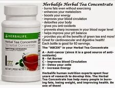 Herbalife Tea Concentrate 1.8oz 50g - (multiple flavors)