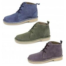 Womens Roamer L380 Suede Leather Lace Up Desert Boots Ankle Shoes Chelsea Shoes