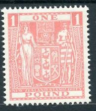 New Zealand 1940-58 Postal Fiscal £1 pink SGF203 MLH