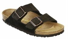 Birkenstock Arizona Mocca 100% Suede leather Brand New in box All Sizes