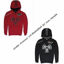 UNDER ARMOUR UA NEW MENS BASKETBALL SC ICON PULLOVER HOODIE SWEATSHIRT NWT