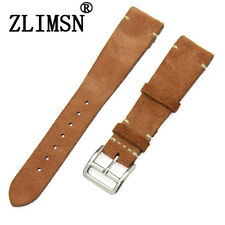 Watch Bands Distressed Leather Band Strap Men Women Wristwatch Bands Straps 20mm