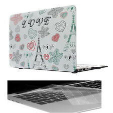 "Tower Rubberized Hardcase Shell+Keyboard Cover For Macbook Air 11"" A1370 A1465"