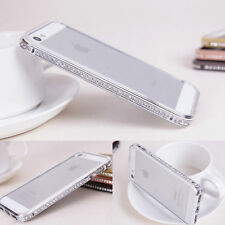 Bling Sparkling Diamond Glittery Hard Bumper Case Cover For iPhone 5 5S 6 6S 6+
