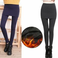 False Two-piece Legging Pantskirt Women Legging With Skirts Slim Fit Thin Style