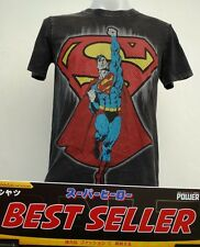 Superman Black and red Cotton T-Shirt Super Hero Dccomics,Warner Bros