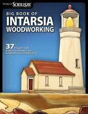 Big Book of Intarsia Woodworking Scroll Saw Woodworking & Crafts Magazine New Pa