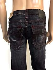 NWT TRUE RELIGION MEN'S JEANS RICKY W FLAP SUPER T, $379, SZ 28, AUTHENTIC!!