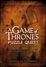 A Game of Thrones Puzzle Quest by Tim Dedopulos Hardcover Book