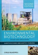 Environmental Biotechnology by Gareth G. Evans Hardcover Book (English)
