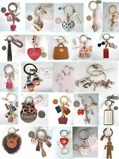 COACH PURSE HEART LOCKET KEY CHAIN VALET FOB SHOE SCOTTIE DOG