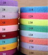 5 yards-SEW ON HOOK and LOOP  FASTENER TAPE 20mm wide 20 COLOURS Velcr