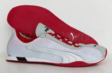 New Puma H Street + Running Men's Shoes White - Red RARE All Sizes