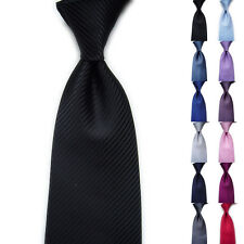 New Mens Classic Striped Ties WOVEN JACQUARD Silk Suits Tie Necktie Fashion