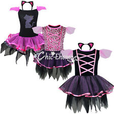 Christmas Girl Kid Halloween Party Costume Ballet Dance Vintage Dress Dancewear
