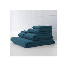 IKEA FRAJEN 100 % Cotton Towels Assorted Sizes Dark Blue Color Free shipping.