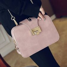 Fashion Women European Retro Small Shoulder Crossbody Messenger Bag Chain Casual